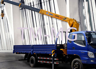 XCMG 4T Mobile Telescopic Boom Truck Mounted Crane With 10m Lifting Height